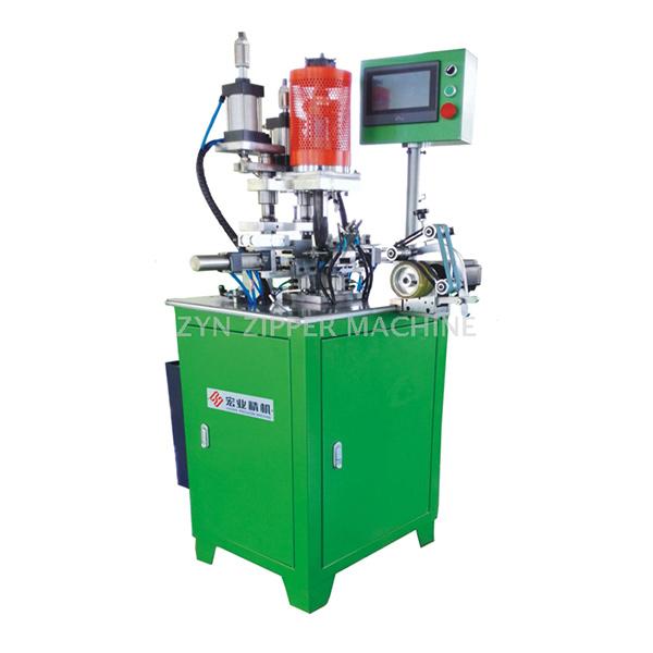 HY-136N-C 全自动尼龙上止机(扁丝单焊头U型)